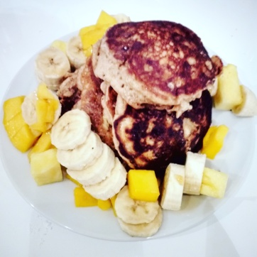 Vegan week: Banana- pancakes <3